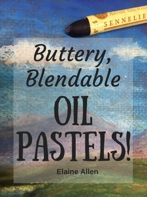 Buttery Blendable Oil Pastels
